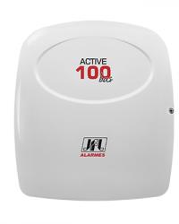 Detalhes do produto  Central De Alarme  Monitorável  Active-100 BUS Modular - JFL Alarmes