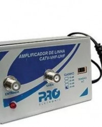 Detalhes do produto AMPLIFICADOR DE LINHA 30DB PQAL-3000 PROELETRONIC - PRO ELETRONIC