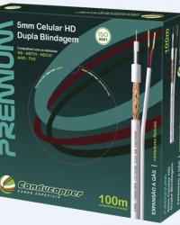 Detalhes do produto CABO PREMIUM 5MM HD CELULAR + BIPOLAR - CONDUTTI
