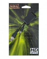 Detalhes do produto BALUN E PROTETOR DE SURTOS MAX SUPER HD HÍBRIDO - MAX ELETRON