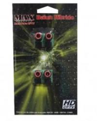 Detalhes do produto BALUN MAX RACK HD HÍBRIDO - MAX ELETRON